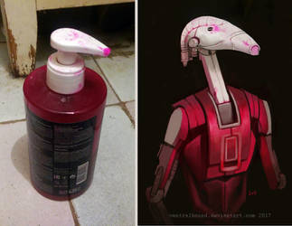 stylish droid by VentralHound