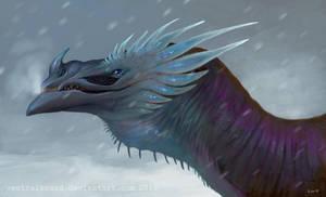 snowstorm by VentralHound