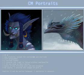 CM Portraits by VentralHound