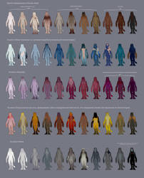 color schemes of the ventral skin by VentralHound