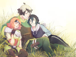 All was so cool with you, guys... by Mioki-Kanta