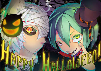 Happy Halloween 2010 collab by godzilla23