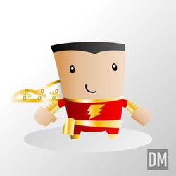 Captain Marvel by DanielMead