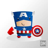 Captain America by DanielMead