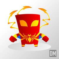 Spider-Man, The Iron Spider by DanielMead