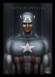 TCard - Captain America by DanielMead