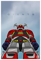 Giant - Battle Fever Robo by DanielMead
