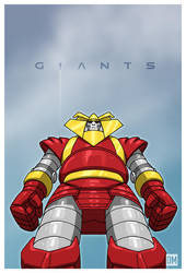 Giant-Red-Ronin by DanielMead