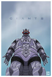Giant - Mechagodzilla by DanielMead