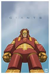 Giant - GR-1 Lionbot by DanielMead