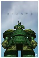 Giant - Robo-Samurai by DanielMead