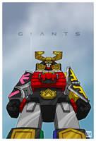 Giant - Samurai Megazord by DanielMead