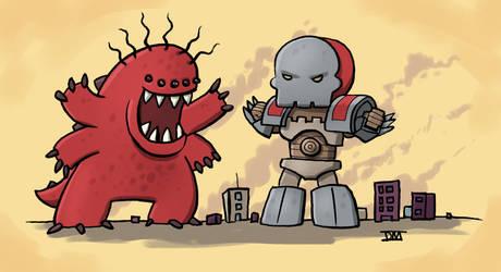 Kill-All-monsters by DanielMead