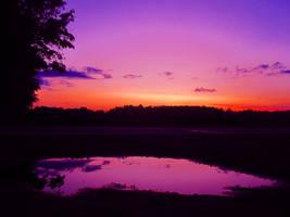 Sunset. by Devian-tard