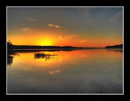 Silence at sundown.. by NorwegianAnette