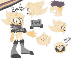 Basil Abdul (the hedgehog) by BlondeSpirit