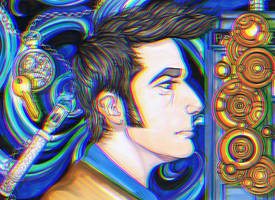 Tenth Doctor by MacabreMenagerie