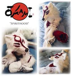 Okami Amaterasu ''Spirithood'' by Starcanis