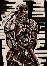 Solid Snake by Fahad-Naeem