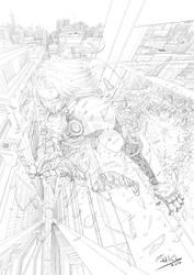 My Manga Artwork by Fahad-Naeem