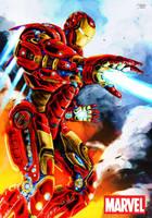 Iron Man Fanart by Fahad-Naeem