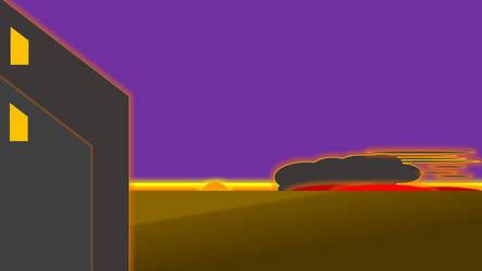 Prairie fire by rbeauchamp