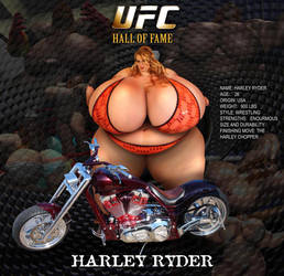UFC Harley Ryder by SumoChicks