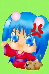 angry girl by Meiiryu
