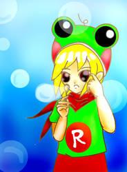 frog girl Rimid by Meiiryu