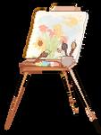 painting pixel [F2U] by royaIin