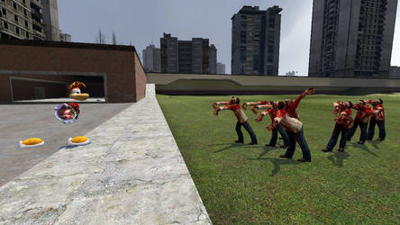 GMod : Rayman VS the zombies by Axel-Letterman