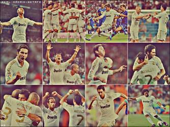 Real Madrid CF v Getafe CF by ASHOOR