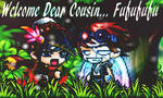 Welcome Dear Cousin Fufufu~ by DiamondLight288