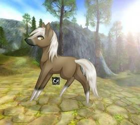 Star Stable Online | Chibi | Krokett - Request by cross-creature