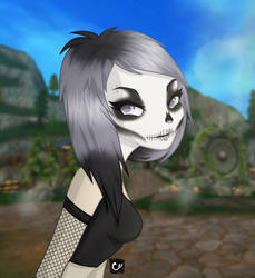 Star Stable Online | Tiffany Braveforest - Skull by cross-creature