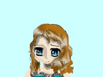 Manga girl by leopard1220