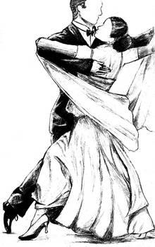 Ballroom Dancers by terrail