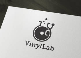 Vinyl Lab logo by LiveAtTheBBQ