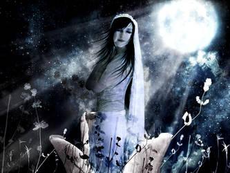Moonflower: Wallpaper by sensory-ghost