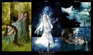 12 Zodiac: Air by sensory-ghost