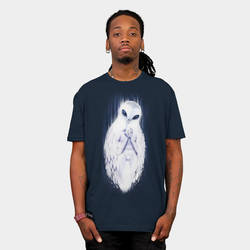 Owl in the Room | T-Shirt by Mickeyns