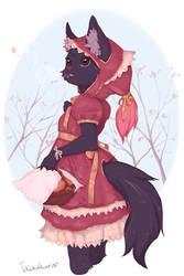 Red Riding Hood by Ikizukurist