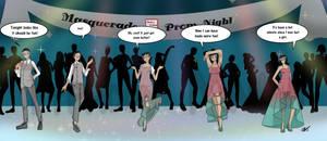Mustave Academy Masquerade Prom CherryPepsiGuy by Typhoon-Manga