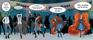 Mustave Academy Masquerade Prom Valerie by Typhoon-Manga