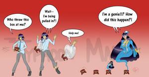 Genie Series Chest of Truth Zekwars by Typhoon-Manga
