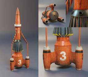 Thunderbird 3 (studio renders) by nancekievill