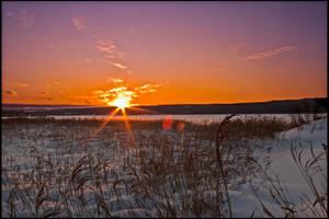 Winter fields by Noxire