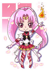 Precure s Sailor Moon: Sailor Scarlett by Puyo0702