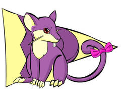 Mystery Dungeon: Rattata by Iron-Zing