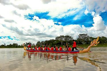 dragon boat race by adjonk